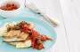 Barramundi with tomato caperberry sauce and mash  image